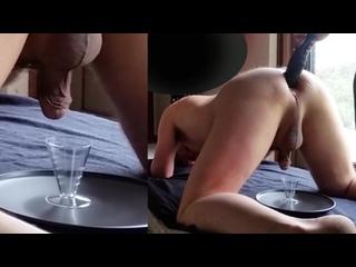 Strapon handjob, fetish, kuni, foot, , sissy, kink-2