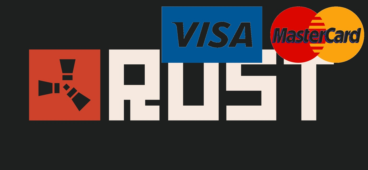 RUST NEW ACCOUNT (BANK CARD PAYMENT)