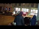 Улицы вечернего Питера Воронинский проезд Апраксин переулок набережная реки Фонтанки зимний СПБ