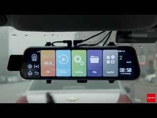 10 дюймов Автомобильное зеркало заднего вида,Автомобильный видеорегистратор ADAS Android FHD,GPS навигатор,камера заднего вида