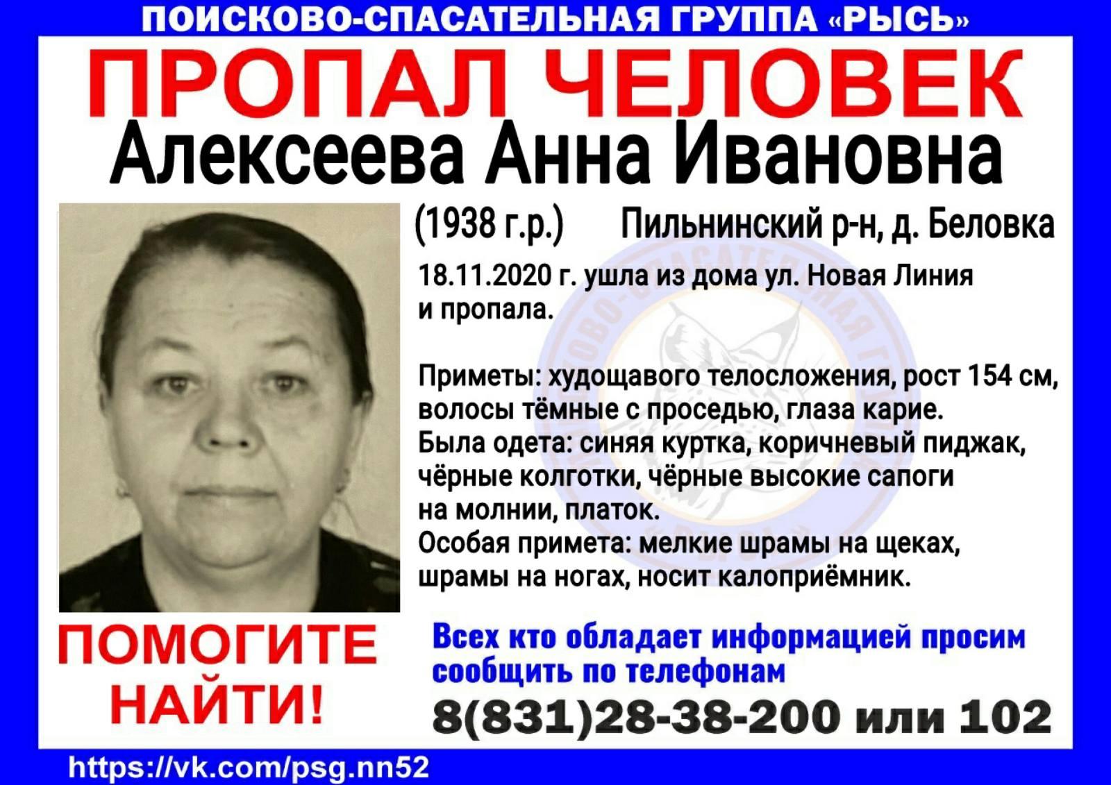 Алексеева Анна Ивановна