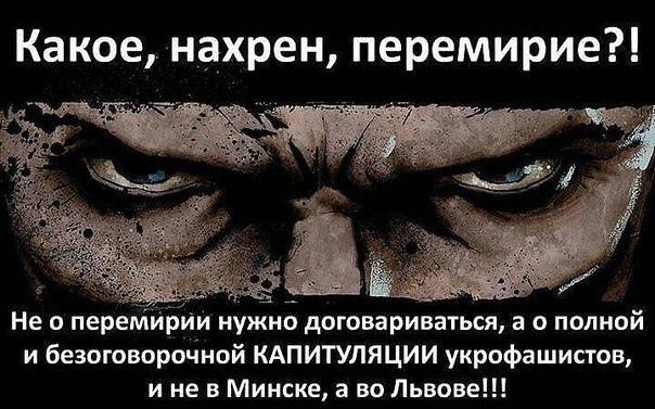 рочное официальное сообщение от НМ ДНР.