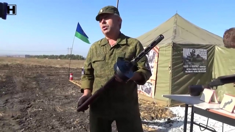 ДНР 1 ОКТЯБРЯ 2015 Танковый Биатлон ДНР
