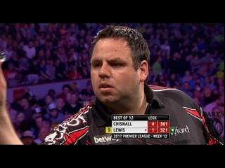 Dave Chisnall vs Adrian Lewis (2017 Premier League Darts / Week 12)