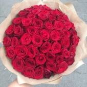 Букет из 51 Розы Рэд Наоми