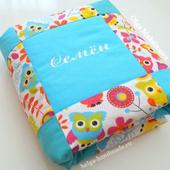 [на заказ] Лоскутное одеяло
