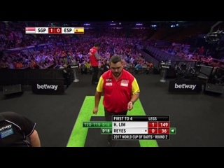 Singapore vs Spain (PDC World Cup of Darts 2017 / Round 2)
