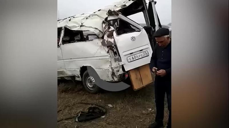 Два человека погибли и 12 получили травмы в ДТП в Дагестане