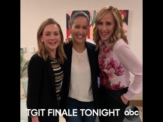 Watch the TGIT finales with us, tonight on ABC! ForThePeopleABC @GreysABC @Station19