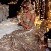 """Вечернее платье """"Lexi Gold"""""""