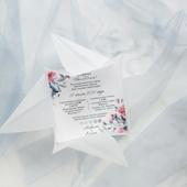 Комплект Голубая акварель оригами