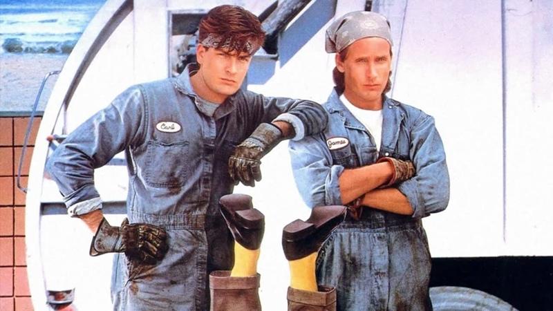 Мужчины за работой Мужская работа Men at Work 1990 боевик комедия криминал