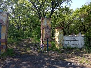 Руины детского пионерского парка им. Гайдара 😒