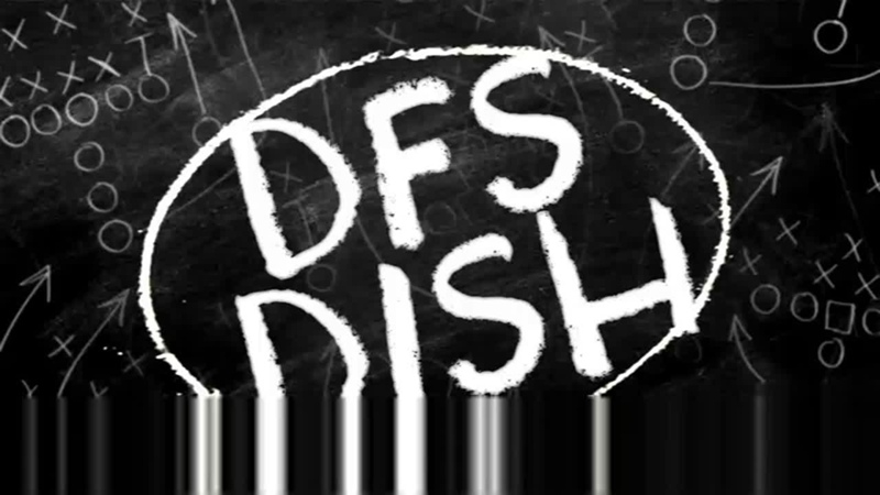 DFS Dish Week 14 Recaps Week 15 Projections Stacks and Fades DailyRoto Ep 14