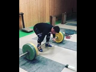 Олег Чен - рывок 110 килограмм