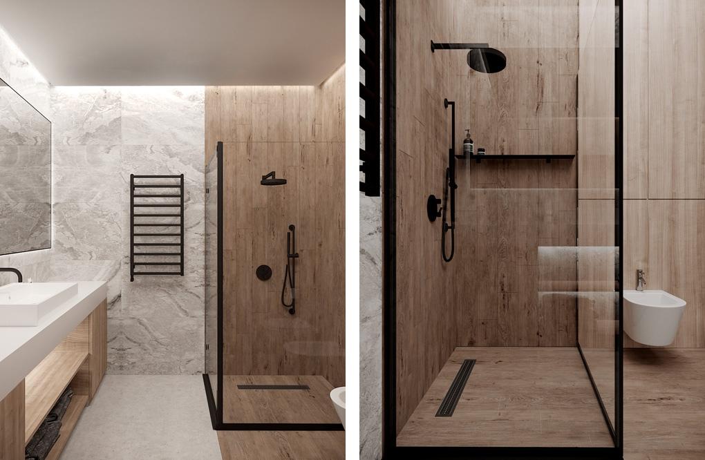 Концепт студийной квартиры от дизайнера Александры Руденко, Украина.