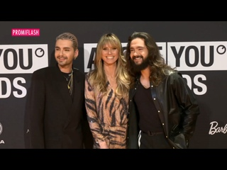 Promiflаsh, VОХ, VIP: Kaulitz Twins and Heidi Klum at the About You Awards -
