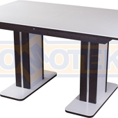 Стол с камнем Румба ПР-2 КМ 04 ВН 05-2 ВН/БЛ КМ 04