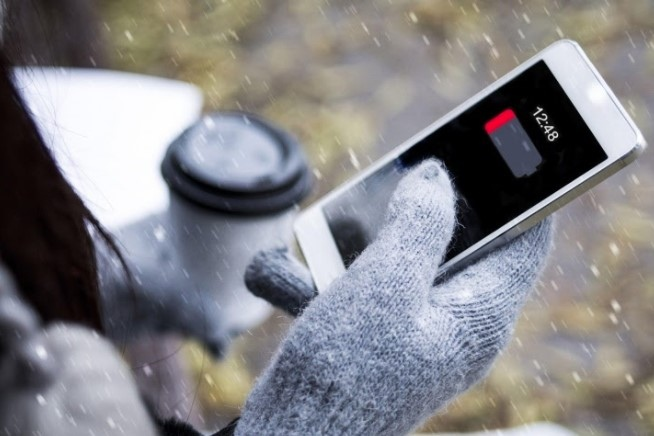 Телефон разряжается на морозе