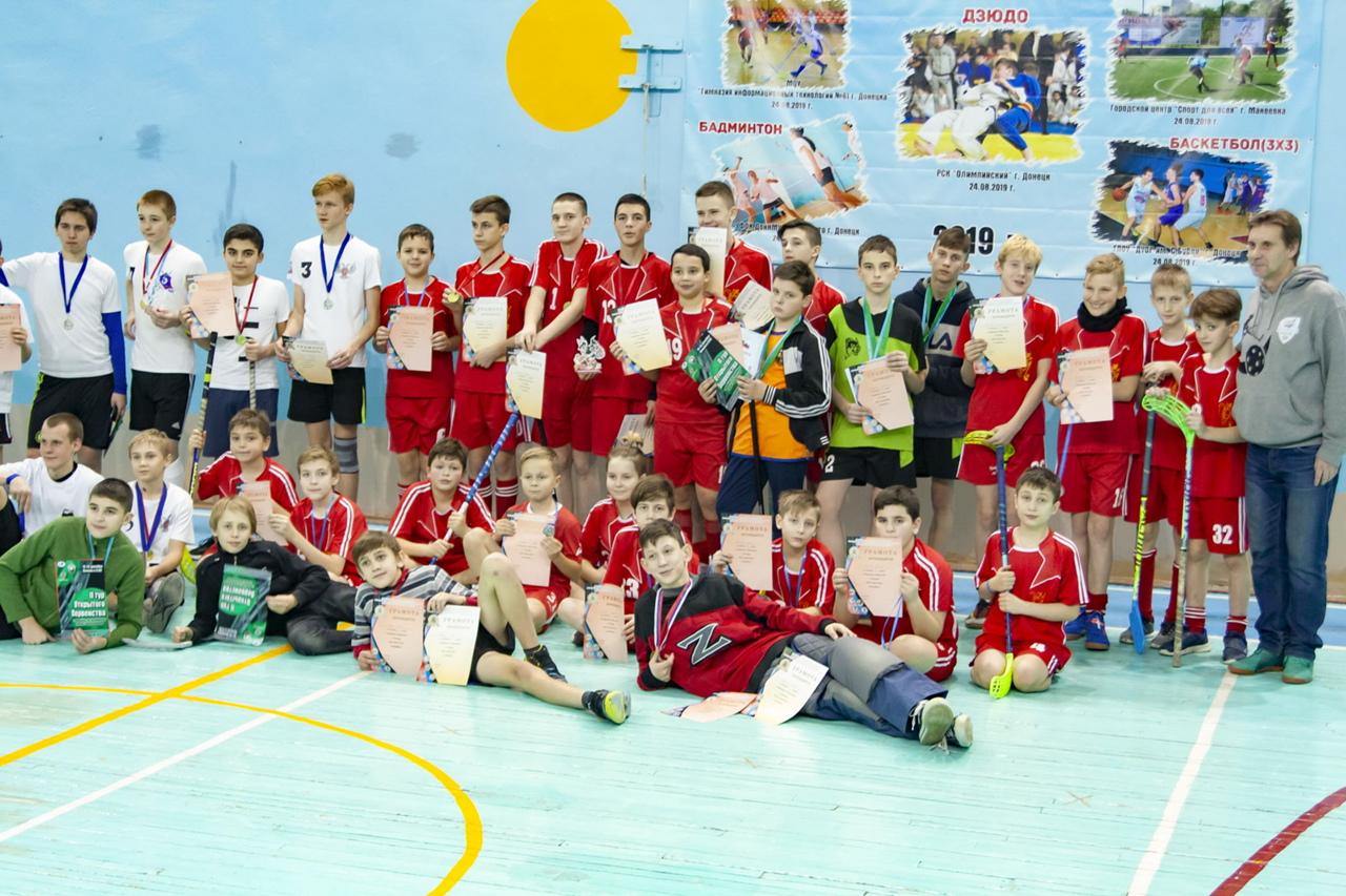 Состоялся второй тур соревнований по флорболу среди школьников