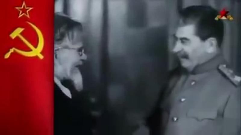 вручение ордена Победа маршалу Сталину