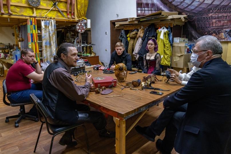 Президент Национальной галереи Коми Пьер Броше посетил Ухту, изображение №13