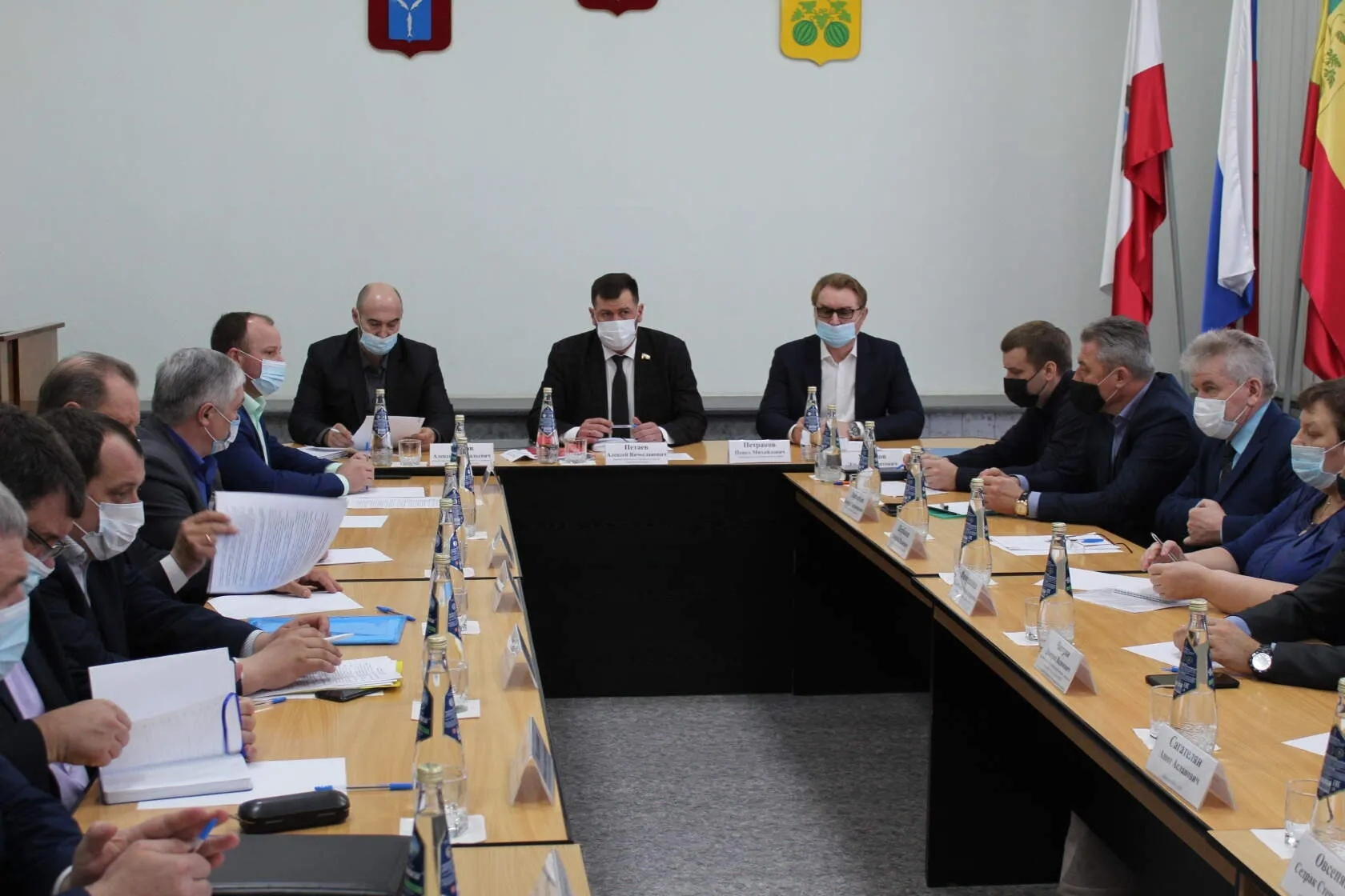 Представитель Петровского района поучаствовал в совещании по вопросу организации дорожных работ