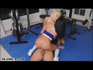 Luna Star Victoria June Keiran Lee - My Wifes Trainer BRAZZERS [фитнес тренер спортзал sex porno oral] casting, anal, big tits