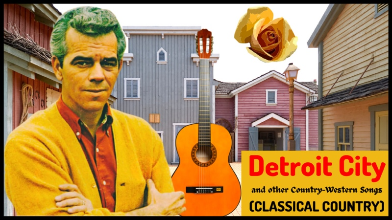 Detroit City and other Country Western Songs CLASSICAL COUNTRY by Roy Drusky in 1964