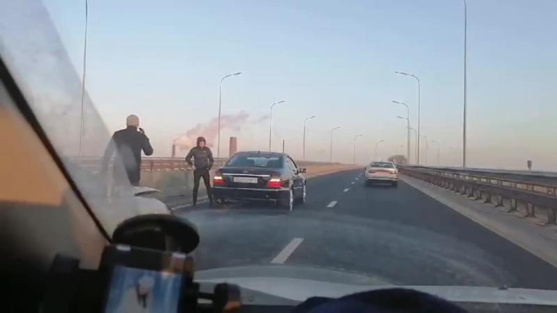Очевидец Сегодня утром на Западном обходе произошло ДТП