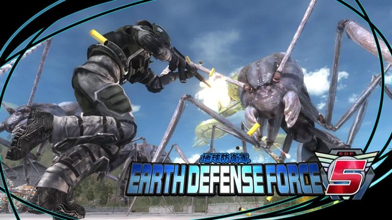 Earth Defense Force 5 – пиф-паф, ой-ёй-ёй