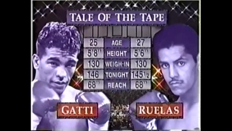 Arturo Gatti vs Gabriel Ruelas -TVKO HBO PPV October 4, 1997