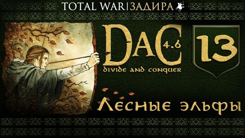 Total War DaC v4 6 13 Лесные эльфы Мод на Medieval II