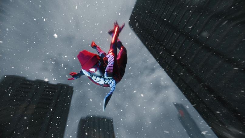 Полеты на паутине по заснеженному Нью-Йорку при 60 кадрах в секунду в Spider-Man: Miles Morales — поистине бесценно!