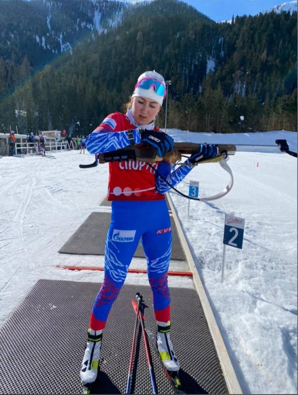 Можгинка Илона Знакова стала 34-й в спринте на юниорском Чемпионате мира в Австрии