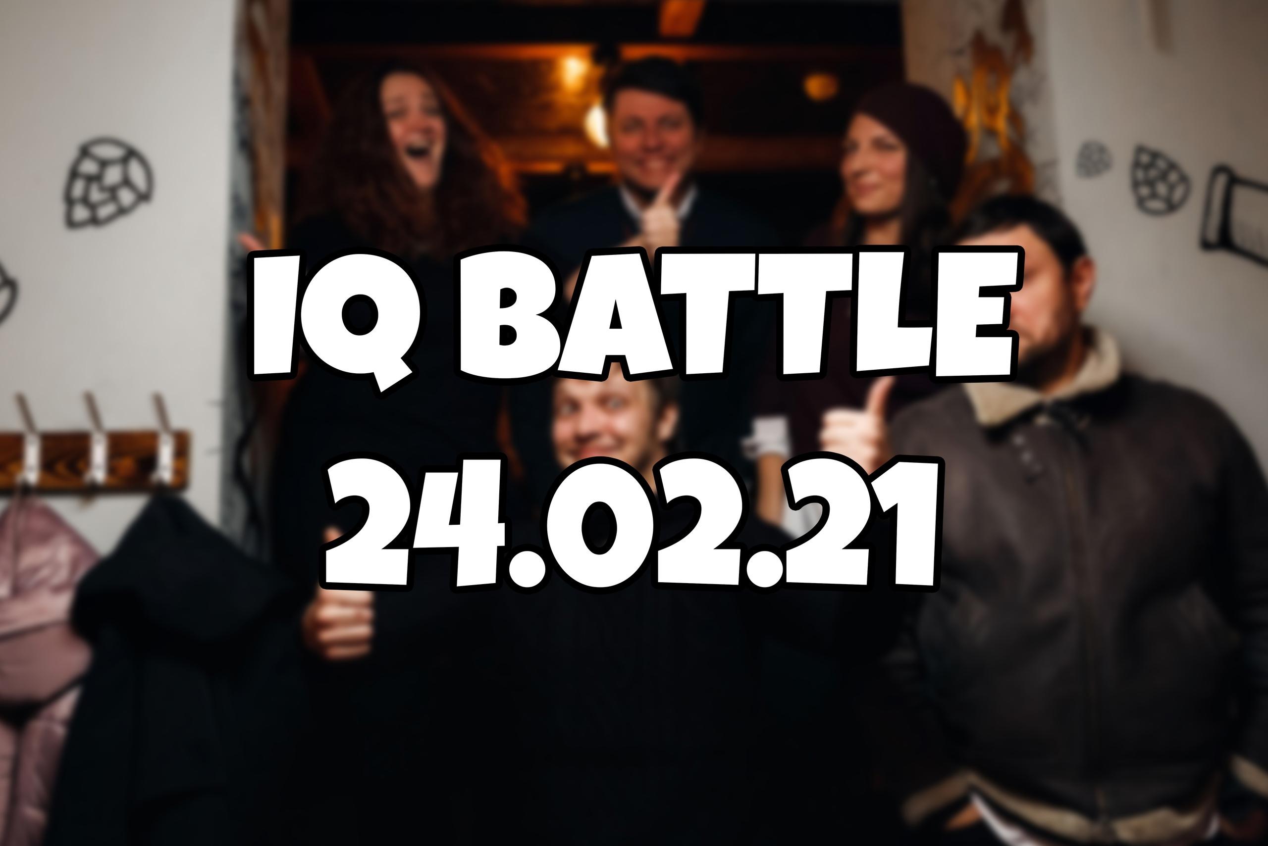 IQ Battle | 24.02