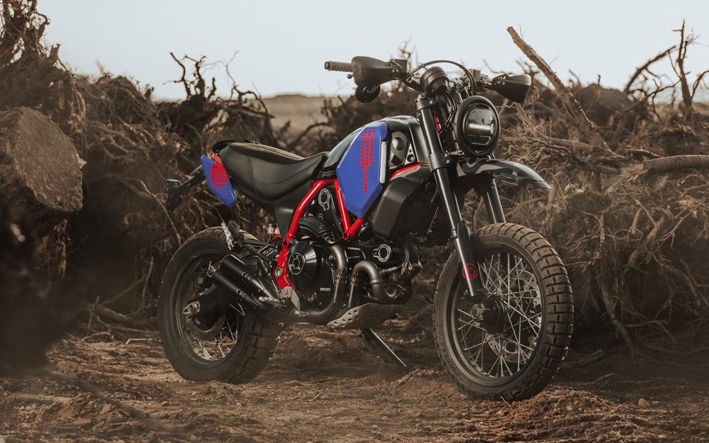 Hookie Co.: кастом Ducati Scrambler Scorpion