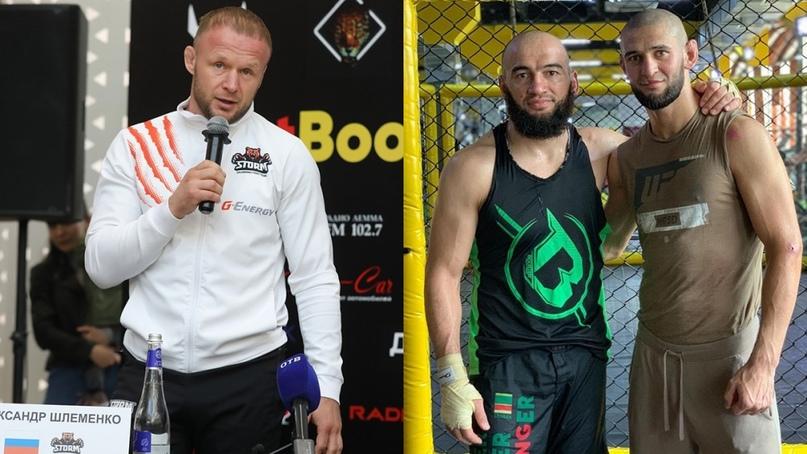 😎 Шлеменко, Чимаев и Дураев сцепились в суету в интернете.