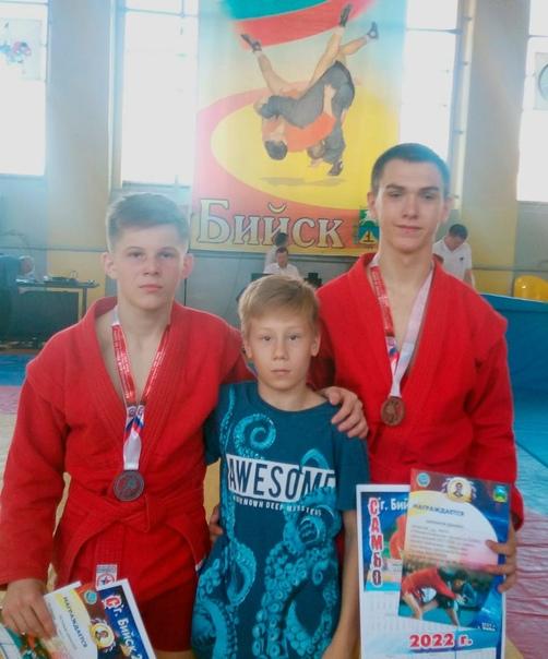 В г.Бийске в период с 7 по 12 октября проходит Межрегиональный турнир по самбо среди юношей 2007-2008 г.р. памяти