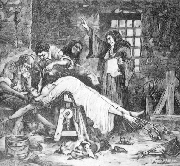 Жила Маркиза де Бренвилье в XVII веке и прославилась тем, что в сообщничестве со своим любовником убила отца, двух братьев и сестру Причиной стало стремление женщины получить наследство.