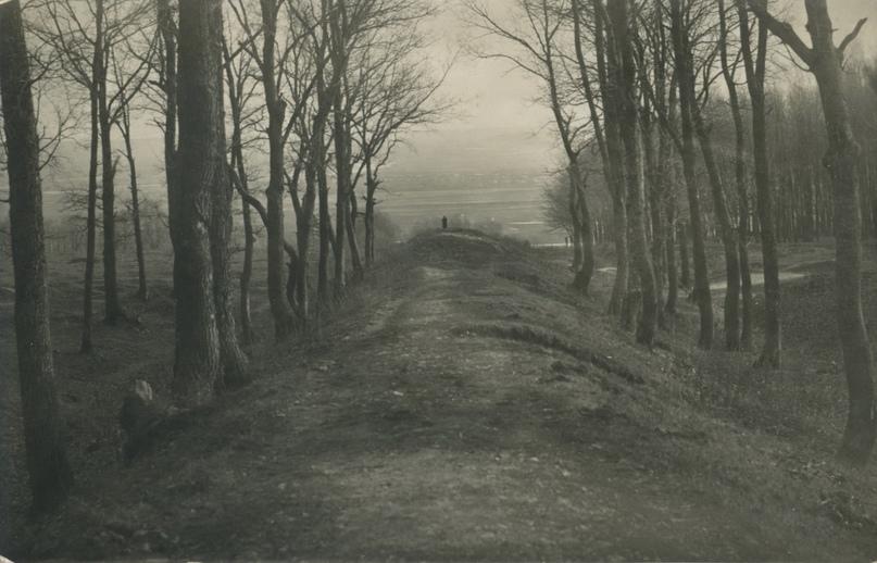 ПГКМ КП-15994-2. Вал XVII века на окраине Пензы, 1930 г. Из фондов Пензенского краеведческого музея.
