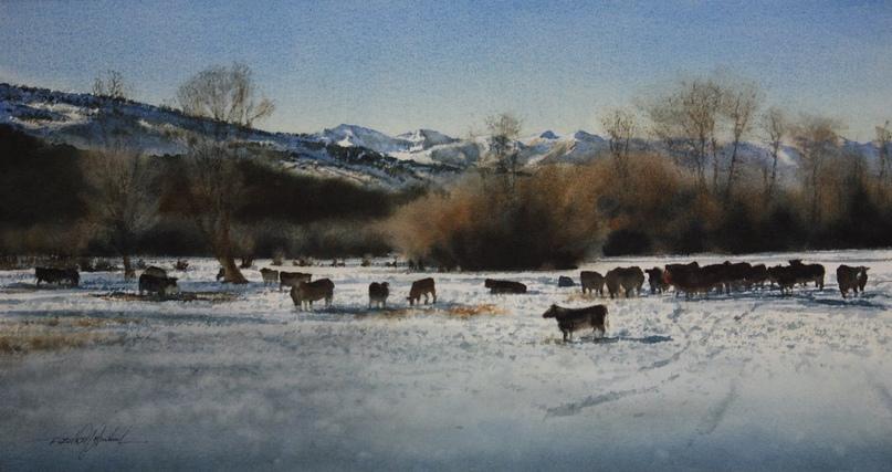 Американский художник-акварелист. Robert McFarland, изображение №36
