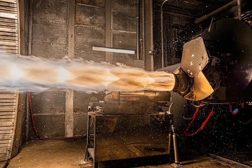 Astra проводит испытания двигателя Delphin на своём предприятии в Аламеде, Калифорния. Фото: Джон Краус / Astra