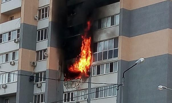 Действия при пожаре в здании