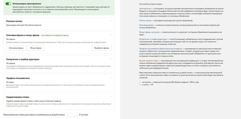 Яндекс РСЯ. Обзор.Плюсы и минусы., изображение №5