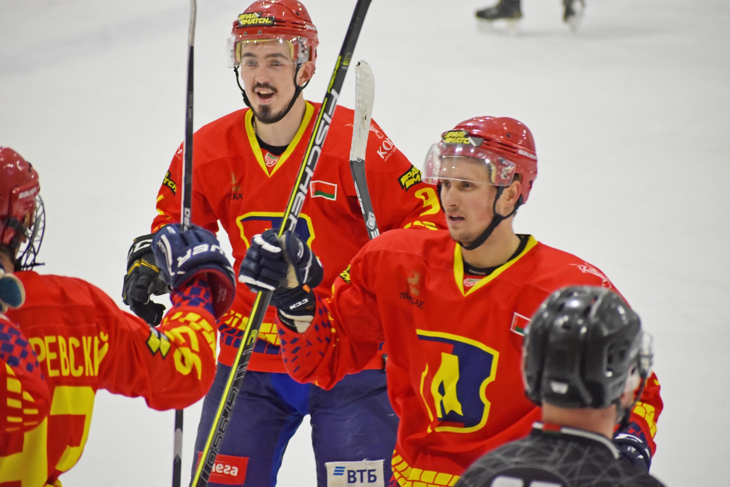Хоккейный клуб «Лида» в рамках Игр развития обыграл «Пинских Ястребов».
