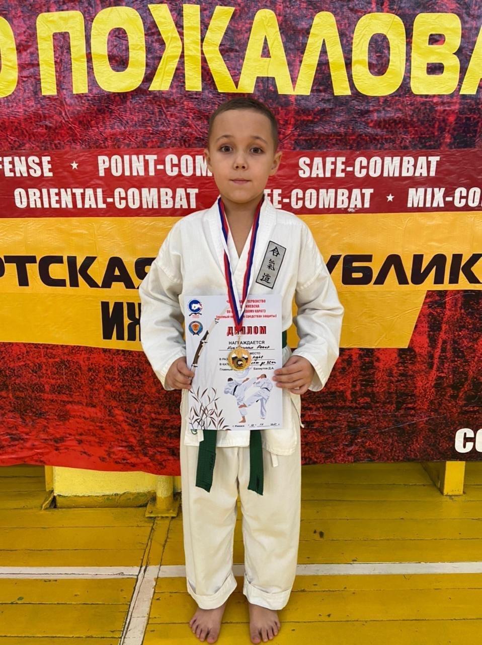 Третьеклассник из 8 гимназии - победитель Чемпионата