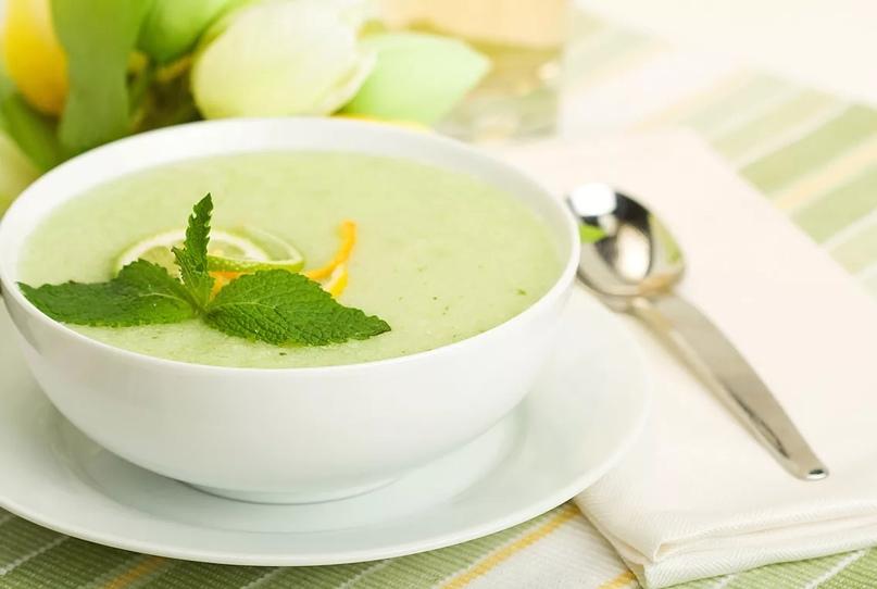 Дынный суп.