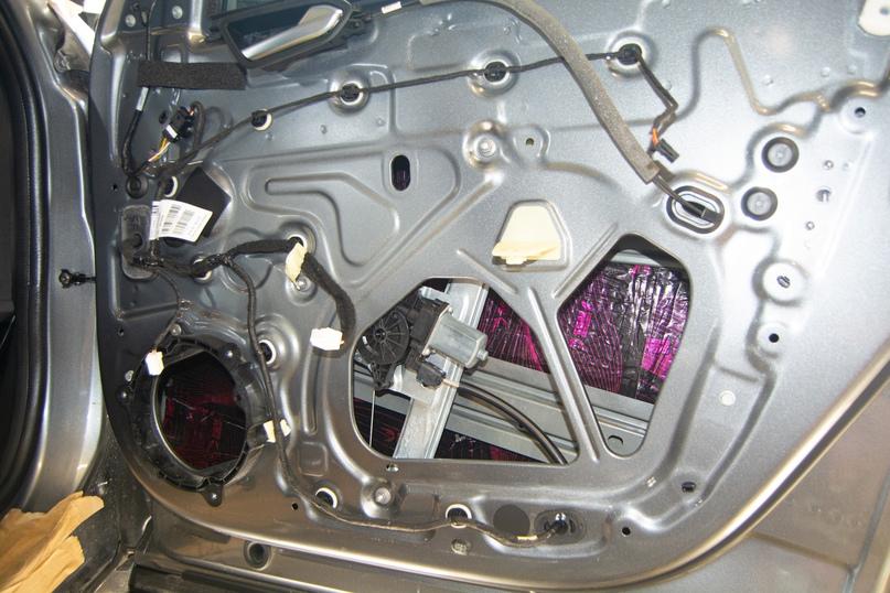 Комплексная шумоизоляция Renault Arkana, изображение №5