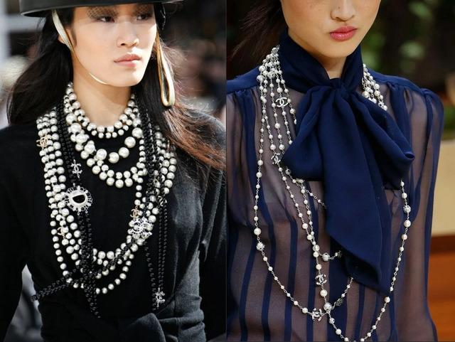 Как различаются по видам и длине женские шейные украшения, классификация бус по длине, виды шейных украшений,